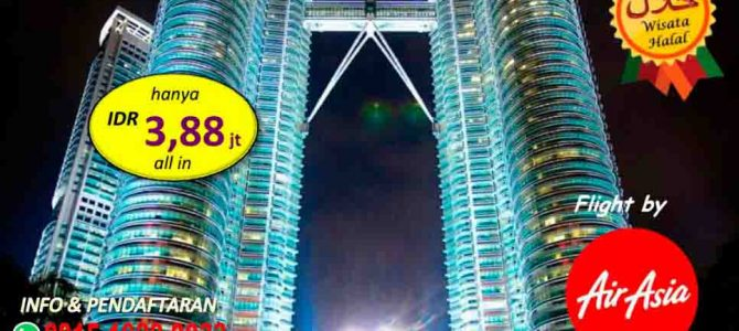Menjelajahi Menara Kembar Petronas di Kuala Lumpur