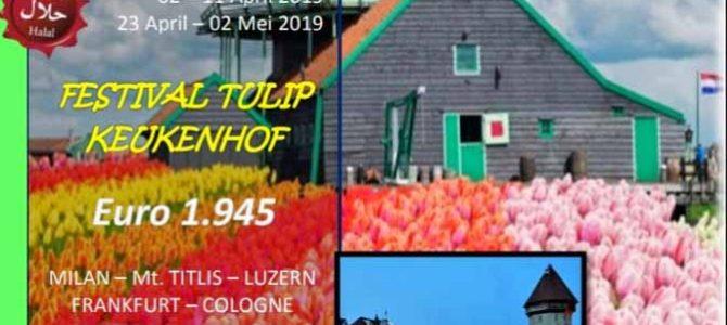 Wisata Halal Eropa Barat dan Festival Tulip Keukenhof 2019