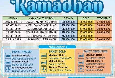Umroh Ramadhan 2019