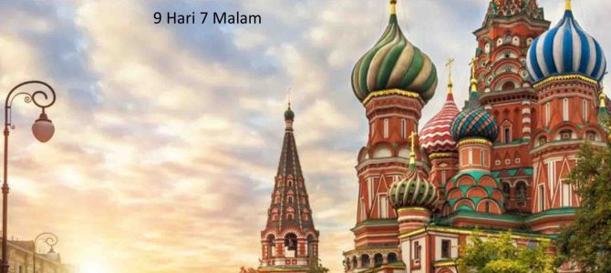 Wisata Halal Rusia 2019 Amazing Rusia