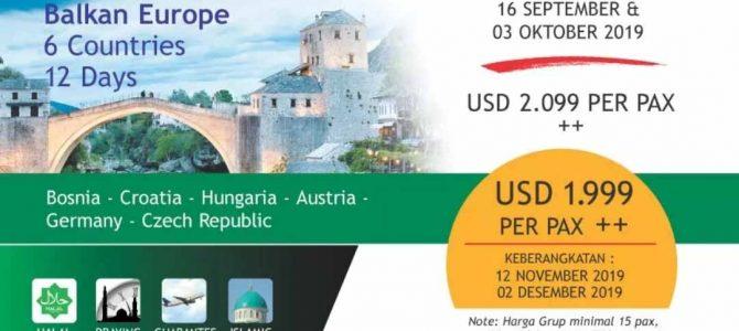 Wisata Halal Balkan Eropa 2019