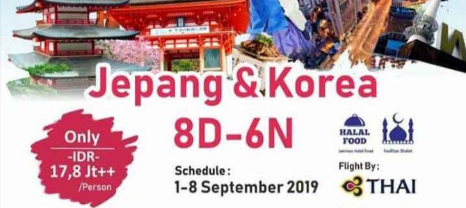 Wisata Halal Jepang dan Korea 2019