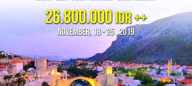 Wisata Halal Balkan 2019 – Europe Balkan Nature