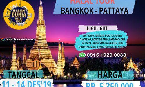 Bangkok Pattaya Halal Tour