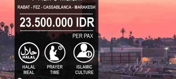 Wisata Halal Maroko 2020