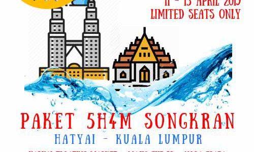 Hadir di Festival Songkran Thailand melalui Kuala Lumpur