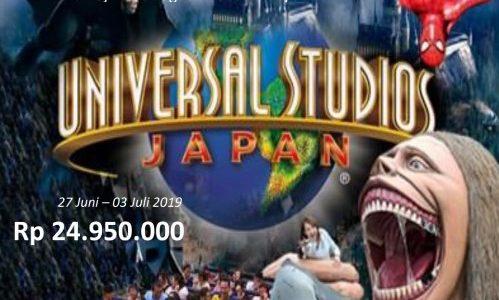 Wisata Halal Jepang 2019 Mengunjungi Universal Studio