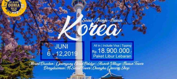 Wisata Halal Korea 2019 Paket Libur Lebaran