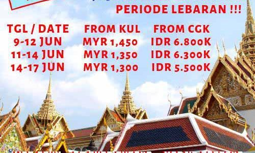 Wisata Halal Thailand 2019 Thailand Mania
