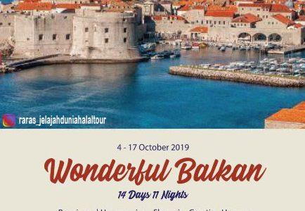 Wisata Halal Balkan 2019 Wonderful Balkan