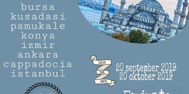 Wisata Halal Turki September 2019