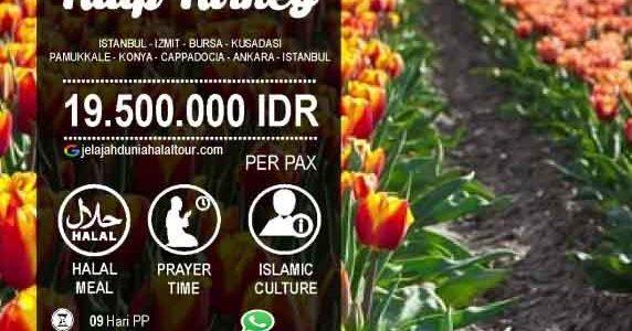Festival Tulip Turki 2020