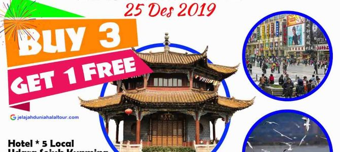 Liburan Akhir Tahun Kunming Halal Tour