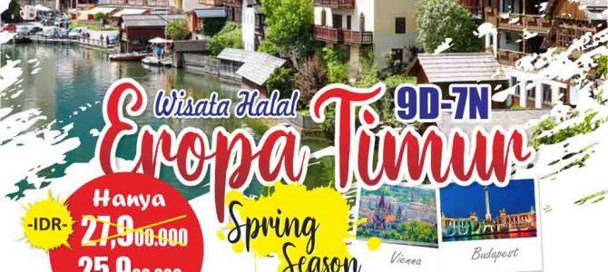Wisata Halal Eropa Timur 2020 – Paket Promo